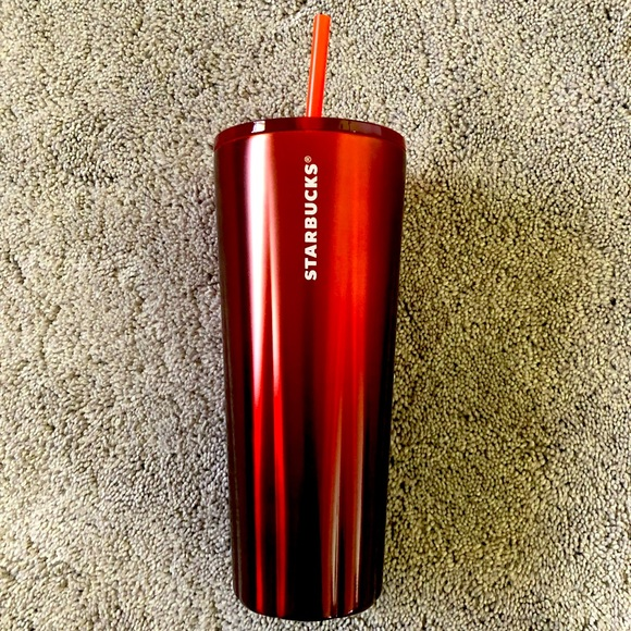 Starbucks 24oz Stainless Steel Red Cold Cup